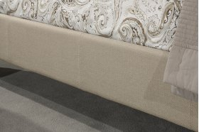 Universal Fabric Side Rail - Cal King - Buckwheat