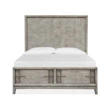 Complete Queen Pattern Storage Bed