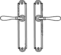 Additional Multipoint System Set - Single cylinder trim set without mechanism