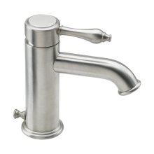 Huntington Single Hole Lavatory Faucet - Satin Nickel