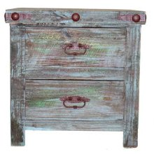 Painted Reclaimed Look Night Stand