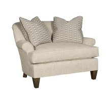 Carson Chair & 1/2, Carson Ottoman