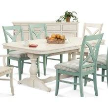 Hues Rectangular Dining Table
