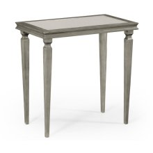 Italian Silver Rectangular Side Table