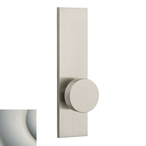 Satin Nickel with Lifetime Finish Contemporary K010 Knob Screen Door