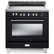 "Matte Black 36"" Verona Classic Electric Single Oven"