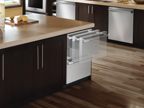 24 3/16 Under-counter Double Drawer Refrigerator Professional Handle T24UR820DS