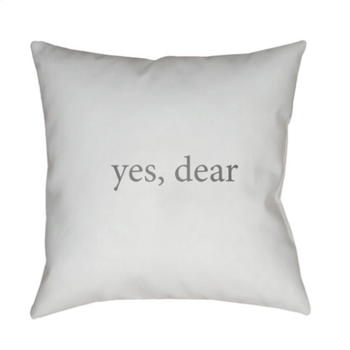"Yes, Dear QTE-060 20"" x 20"""