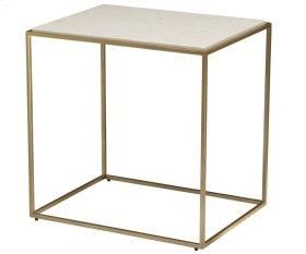 Misty Stone Rectangular Side Table