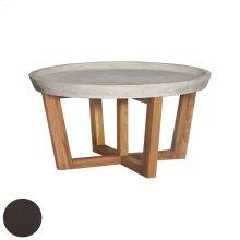 ROUND CONCRETE COCKTAIL TABLE