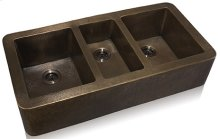 Triple Bowl Apron Front Undermount