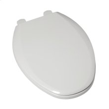 Easy Lift and Clean Elongated Toilet Seat - White