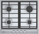 """500 Series, 24"""" Gas Cooktop, 4 Burners, Stainless Steel Product Image"""