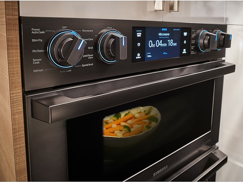 Samsung Liances 30 Chef Collection Microwave Combination Oven With Flex Duo