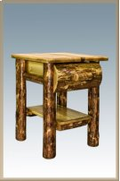 Glacier Country Rustic Nightstand Product Image