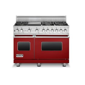 "48"" 5 Series Self-Cleaning Gas Range, Natural Gas"