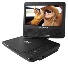 "7"" Swivel Screen Portable DVD Player (media Player)"