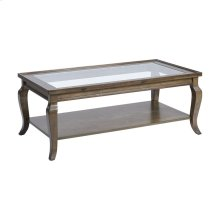Dutton Antique Brown Coffee Table