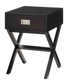 7079 Black End Table