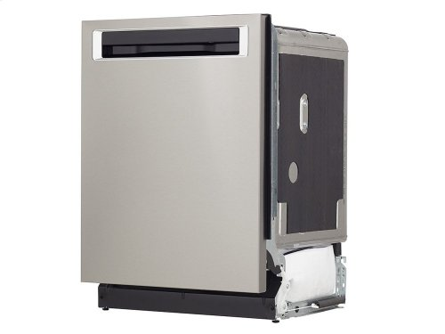 44 DBA Dishwashers with Clean Water Wash System and PrintShield Finish, Pocket Handle - PrintShield Stainless