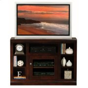Thin-Screen TV Cart with Bookcase Sides Product Image
