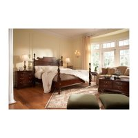 Bedford Pinapple Post Queen Bed Product Image