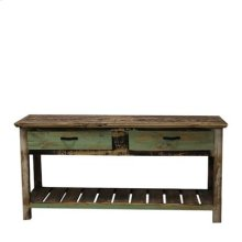 "Console : 60"" x 14"" x30"" Cabana Collection"
