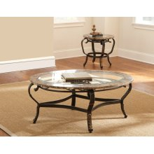 "Gallinari End Table 26""x26""x24"" 5mm"