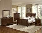 "Sleigh Bed (queen)64""W x 57.5""H; Product Image"