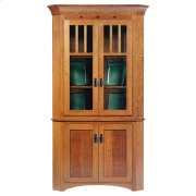 "30"" New Classic Mission Corner Hutch Product Image"