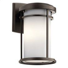 "Toman 10.25"" 1 light Wall Light with LED Bulb Olde Bronze®"