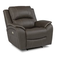 Marina Fabric Power Recliner with Power Headrest Product Image