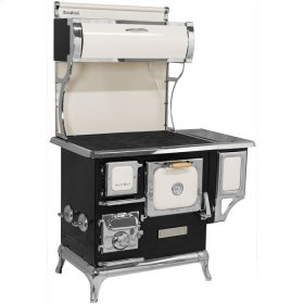 Ivory Sweetheart Wood Cookstove with Water Reservoir