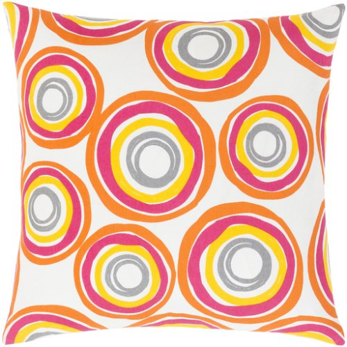 "Miranda MRA-004 22"" x 22"" Pillow Shell with Down Insert"
