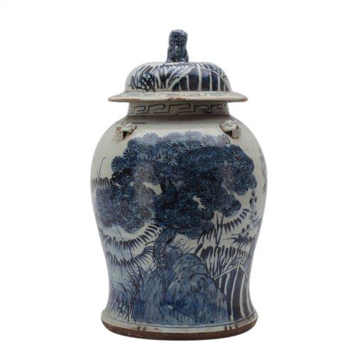 Small Tree Ceramic Vessel