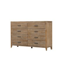 Emerald Home Torino 8 Drawer Dresser Sandstone B323-01