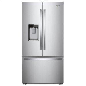 36-inch Wide Counter Depth French Door Refrigerator - 24 cu. ft. - MONOCHROMATIC STAINLESS STEEL