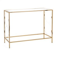 Rouvin Acrylic Glass Console Table