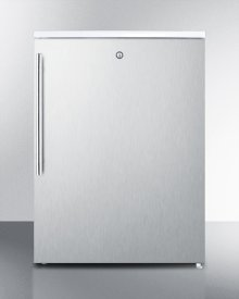Ada Compliant All-freezer With Lock, Stainless Steel Door and Thin Handle