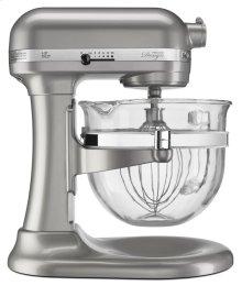 Pro 600 Design Series 6 Quart Bowl-Lift Stand Mixer - Sugar Pearl Silver