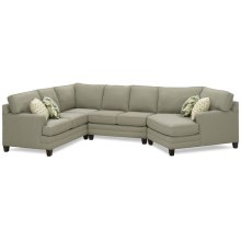 Tailor Made 6600 Sectional with Cuddle