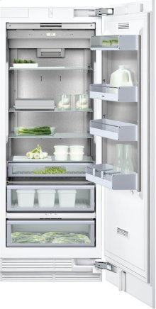 """Refrigeration column RC 472 701 with temperature controlled drawer Fully integrated appliance Width 30"""" (76.2 cm)"""