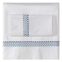 Jewels Sheet Set, Cases and Shams, BLUE, EURO