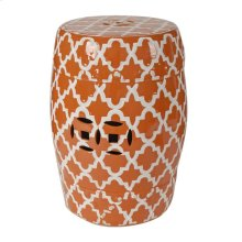 Finley Stool,Orange