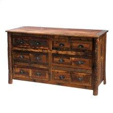 Six Drawer Dresser Premium