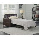 Emerald Home Slumber Twin Sleeper W/gel Foam Mattress Coffee U3215-33-15 Product Image