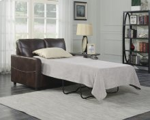 Emerald Home Slumber Twin Sleeper W/gel Foam Mattress Coffee U3215-33-15
