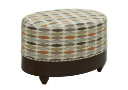 Oval Ottoman Product Image