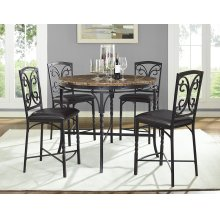 4552/4553  Tuscan Faux Marble Counter Table