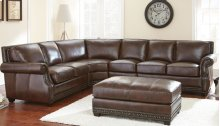 "Henry Left Arm Loveseat, 54""x40""x36"""